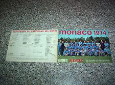 ALBUM MONACO 1974 GENTE COMPLETO(-4 FIG) TIPO CALCIATORI PANINI EDIS MIRA RELI