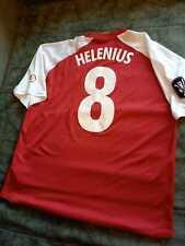UEFA CUP, MYPA, Grasshoppers ,Match worn t-shirt, Niki Helenius, Finland clubs