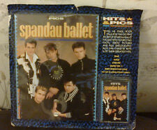 spandau ballet book with cassette tape new never used 6 SONGS