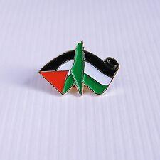 Palestine Map & Flag Pin