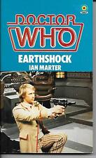 DOCTOR WHO No.78  Earthshock by Ian Marter  1983 paperback book