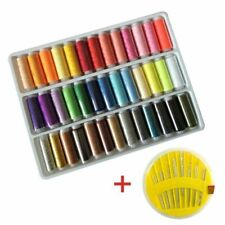 Hand Stitching Threads Sewing Dyed Yarn Box Set Needle Accessories Handcraft Kit
