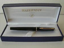 Waterman Hemisphere Fountain Black Laque CT F