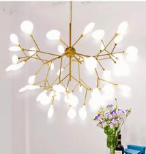 Modern Sputnik Firefly Chandelier Gold 27-63 LEDs Pendant Lamp Ceiling Lighting