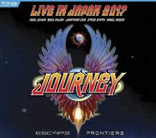 JOURNEY - ESCAPE AND FRONTIERS LIVE IN JAPAN (2CD+BLURAY)