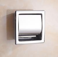 Wall Mounted Paper Stainless Steel Bathroom Toilet Roll Tissue Holder Dispenser