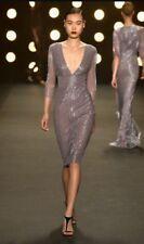 Naeem Khan Beaded Dress Lilac  Size 10
