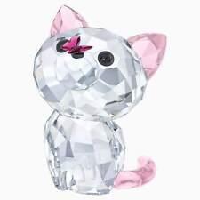 Nib Swarovski Crystal Figurine, Kitten-Millie The American Shorthair #5223597