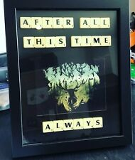 Dumbledore And Snape Handmade Quote Frame Scrabble Tiles Harry Potter