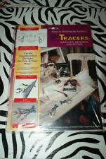 "Accent Magic Mural Tracers Romantic Memories Collection ""Petite Florals"" New!"