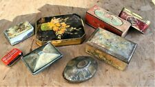 VINTAGE TINS - BISCUIT SWEETS - ROWNTREE CWS - ADVERTISING TINS JOB LOT - RARE ?