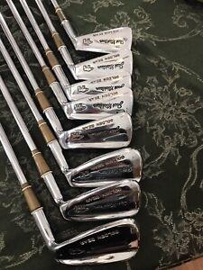 Vintage MacGregor Jack Nicklaus Golden Bear 3-PW Irons Golf Clubs Excellent