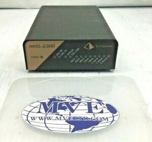LOT OF 3 TUT SYSTEMS MXL-2300 MXL2300 810-03769 ETHERNET NETWORK BRIDGE ROUTER