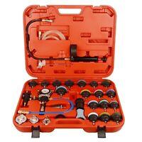 28PC Universal Vacuum Radiator Coolling Pressure Pneumatic System Tester Kit