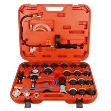 28pc Pneumatic Vacuum Radiator Coolant Pressure Cooling System Tester Kit