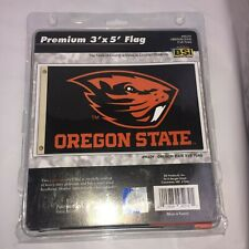 Oregon State Beavers Ncaa Licensed 3' X 5' Premium Flag Banner Free Shipping