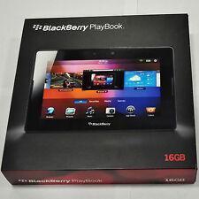 "BLACKBERRY PLAYBOOK 7.0 "" IN BLACK 16 GB TABLET BOXED"