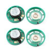 0.25W 32 Ohm Boitier en plastique diametre de 27mm haut-parleur magnetique 4Pcs