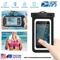 Swimming Waterproof Underwater Pouch Bag Pack Dry Case For Universal Cell Phone