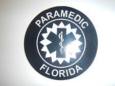 FLORIDA PARAMEDIC REFLECTIVE DECAL - SUBDUED - TACTICAL