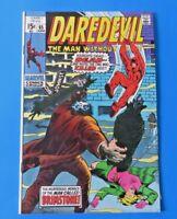 DAREDEVIL #65 COMIC BOOK ~ MARVEL BRONZE AGE 1970 ~ BRIMSTONE ~ FN/FN+
