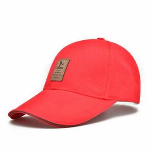 Men Women Sport Outdoor Baseball Cap Golf Adjustable Unisex Snapback Hip Hop Hat