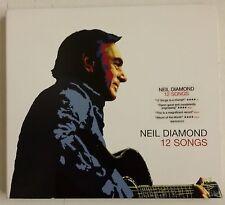 Neil Diamond 12 Songs CD UK 2005 En caja digipack