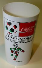 WORLD CUP ITALIA 1990 COCA COLA CUP PLASTIC EXTREMELY RARE
