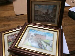 Framed Macclesfield Pictures, Waters Green, Hovis Mill, Market, Fair