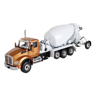 First Gear 50-3316 Kenworth T880 w/McNeilus Bridgemaster Cement Mixer - 1/50 MIB