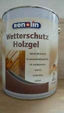 339 L 5 Wetterschutz Holzgel Kiefer Aussen Tropffreie Losemittelfreie Lasur