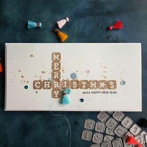 Alphabet Dies Letters Metal Cutting Dies Scrapbooking Album Decorative Crafts