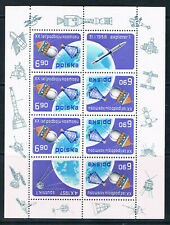 Poland 1977 First Artificial Satellite sheetlet **/MNH SG 2527b Fischer 2392