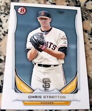 CHRIS STRATTON 2014 Bowman #1 Draft Top Prospect Rookie Card RC LOT HOT Giants