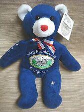 2005 PRESIDENTIAL INAUGURATION Patriotic Collectible TEDDY BEAR - George W Bush