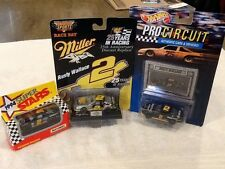 Lot Of 3 Rusty Wallace Die-Cast #2 Cars/1996 Revell-Monog/1992 Mattel/1994 SS