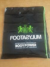 Footasylum Duffle Gym Sports Swim Plastic Drawstring Bag - bodypower promotional