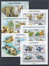 Burundi Sc 1381-1430 MNH. 2013 Brasiliana PHILEX, complete set of 50 s/s, VF