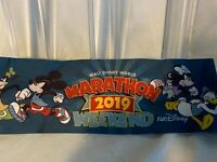 Disney WDW Run Marathon Weekend Bondi Band Headband 2019 Blue Mickey Minnie