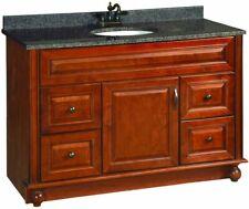 """New listing Design House Montclair 48"""" x 21"""" Single Door Vanity Cabinet"""
