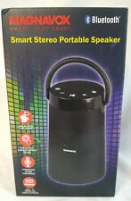 Brand New Magnavox Bluetooth Wireless Stereo Portable Speaker MMA3763S-BK NIB