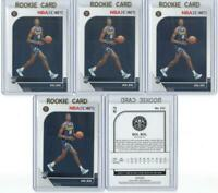 x5 BOL BOL 2019-20 Hoops Rookie Card RC lot/set In Gold Top Loaders Nuggets Mint