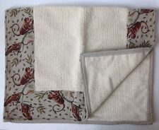 Chenille Throw Rug With Tapestry Border Monkey Print Bath Mat 2x3'