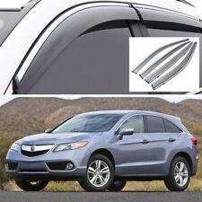 Car Window Vent Visor Deflector Shade Sun/Rain Guards for Acura RDX 2013-2018