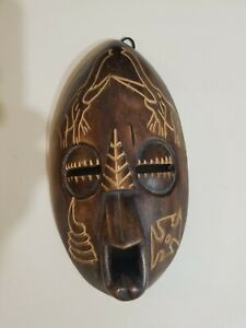 B.A Afrika Promotions Wood Carved Mask