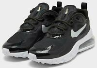 NIKE AIR MAX 270 REACT $150 Women's Running shoes AUTHENTIC CT3426 001 Black
