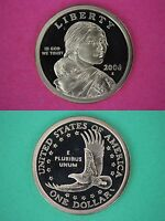 2014 S Proof Sacagawea Dollar Ultra Deep Cameo Coin Flat Rate Shipping
