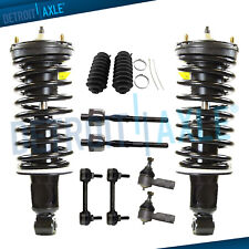 10pc Front Struts w/Spring Sway Bar Tie Rods for 06-12 Chevy Colorado Canyon 2WD