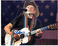 """Willie Nelson Autograph 8""""x10"""" Signed Photo"""