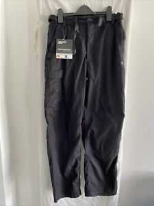 CRAGHOPPERS Black Kiwi Trousers Size UK 30